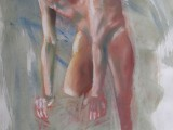 John - 24x18 - pastel and water on paper